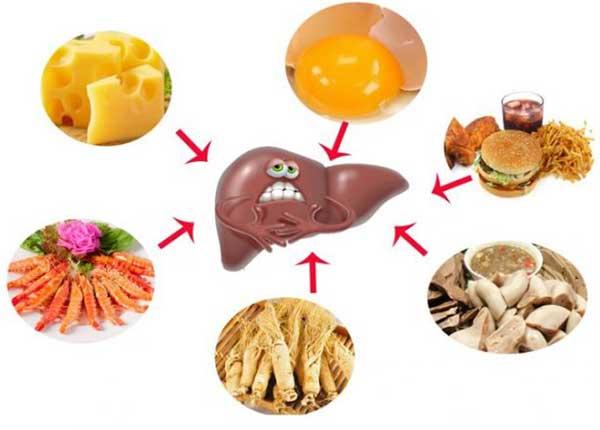 Vài lưu ý về chế độ ăn uống và sinh hoạt khi điều trị viêm gan A